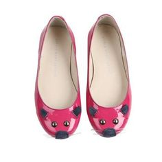 Little Fashion Gallery loves the pink mouse shoes by Little Marc Jacobs!