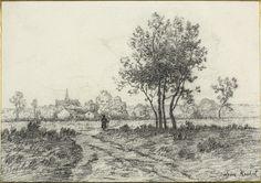 Léon Richet French, 1847-1907, Landscape