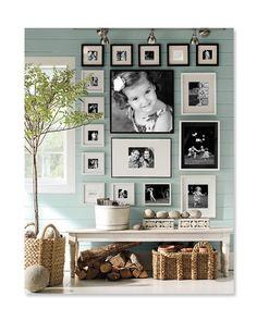 `.I've never been big on displaying Photos. This is an arrangement that's making me rethink that.