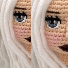 Amigurumi Doll, Kids And Parenting, Dolls, Face, Instagram, Crocheting, Tejidos, Baby Dolls, Puppet