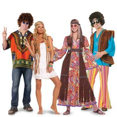Hippies Couples Costumes from BuyCostumes.com #Hippies #Costume