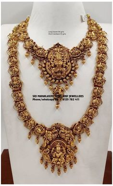 Gold Temple Jewellery, India Jewelry, Fancy Jewellery, Diamond Jewellery, Indian Bridal Jewelry Sets, Bridal Jewellery Collections, Antique Jewellery Designs, Peacock Necklace, Gold Necklace