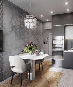 Кухня и коридор из текущего проекта от студии Jeevaa design однокомнатная квартира! Luxury Kitchen Design, Luxury Kitchens, Interior Design Living Room, Studio Kitchen, Home Decor Kitchen, Kitchen Ideas, Modern Bedroom Design, Cuisines Design, Sweet Home