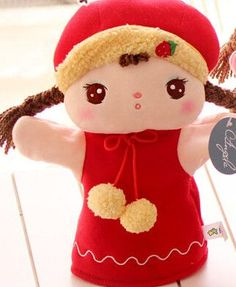 """Hand Puppet (Hand Puppet Toy /Soft Doll Hand Puppet for Baby Kid Child)[9.8"""" /25cm]"""