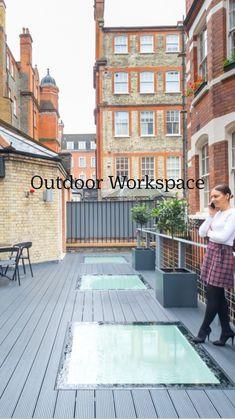 Corporate Office Decor, Office Furniture Design, Outdoor Furniture, Outdoor Decor, Patio, Explore, Inspiration, Home Decor, Desk