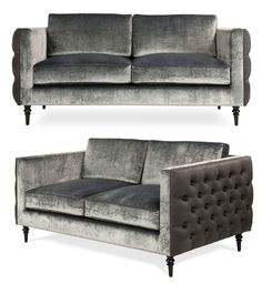 Sleek and versatile, this luxurious contemporary sofa sports deep buttoning to the back and sides as well as intricate piping detail. Winston's strong geometric lines and elegantly turned legs form a distinctive design visual, while layers of foam-wrapped feather and down padding ensure an indulgent seating experience.
