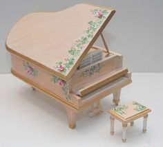 RESERVED for AUBREY Miniature Grand Piano by MiniatureLane on Etsy