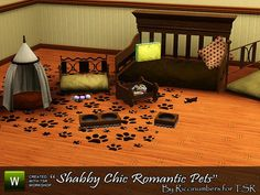 riccinumbers' Shabby Chic Romantic Pets