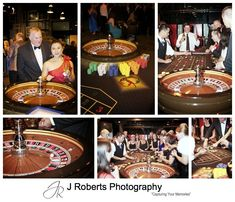 Roulette table at James Bond Themed birthday party - sydney party photography