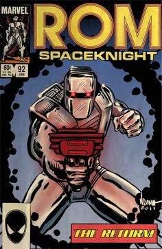 Rom Spaceknight, by Marvel Comics
