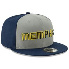 new concept 03328 6ea84 Men s Memphis Grizzlies New Era Gray 2018 City Edition On-Court 9FIFTY  Snapback Adjustable Hat, Your Price   33.99