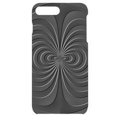 Abstract metallic spirals, silver color, dark grey, graphite colour iPhone Plus Black UV Print Case Iphone 7, Iphone Cases, Apple Mobile, Spirals, New Phones, Graphite, Silver Color, Dark Grey, Creative Design