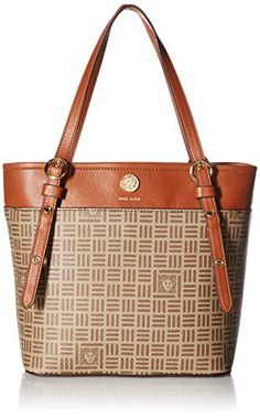 077e6f6eec38 Great for Anne Klein Printed Logo Small Tote Women Bag. [$39.99 - 61.60]