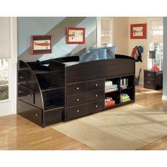 Ashley B239-13L Embrace Left Storage Steps with Loft Ends - Daleys BrandSource Home Furnishings - Fredericton NB