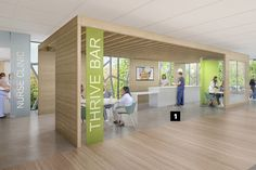 One of largest clients, Kaiser Permanente Designed A Health Center That Puts Patients First. #artmedical, #hospitalart
