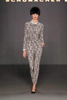 Dorothee Schumacher Fall 2013 Ready-to-Wear Fashion Show