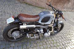 "BMW R100RS Scrambler ""P51"" by Ottodrom.com #motorcycles #scrambler #motos | caferacerpasion.com"