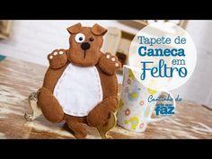 DIY - Tapete de Caneca em feltro (Thais Padella) - YouTube