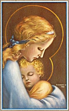 Mary and Jesus <3