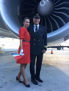 Richard Branson, United Airlines, Air France, Vintage Air, Mode Vintage, Flight Attendant Hot, Under Armour, Retro Mode, Boeing 777