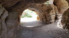 El interior de la cueva