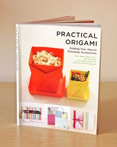 Origami book #origami - Click image to find more Film, Music & Books Pinterest pins