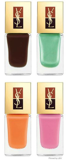 YSL Nail polish | LBV ♥✤ | BeStayBeautiful