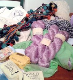 Oops - I went to a yarn show.