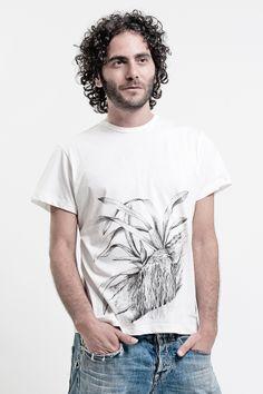 Pure cotton T-shirt  Orchid  www.chiaraperrot.it http://serenastrino.wordpress.com  https://www.facebook.com/ChiaraPerrot https://www.facebook.com/pages/Casual_it%C3%A0/408423862592378