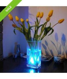 Aqua Waterproof LED Color Changing Mood Light with Remote by Soondar Aqua, Glow Stick Crafts, Glow Stick Wedding, Design3000, Weird Gifts, Shops, Disco Lights, Mood Light, Lights