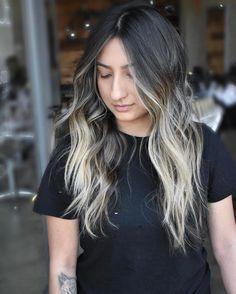 """898 gilla-markeringar, 22 kommentarer - Los Angeles Hairstylist (@jmalonehair) på Instagram: """". . . . . #behindthechair  #btconeshot_hairpaint17 #btconeshot_wavesandcurls17 #btconeshot_ombre17…"""""""