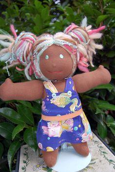Mermaid/Sea Life inspired Waldorf doll