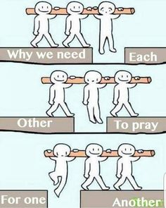 Credit to @arise__and__shine We need each other to pray for one another Type…