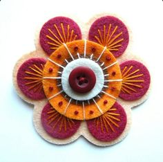 Flor para cojines