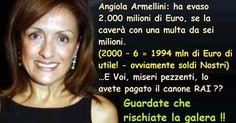 il popolo del blog,notizie,attualità,opinioni : Angiola Armellini: ha evaso…