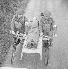 Human powered ambulance  #cycling #bicycle #bicycles