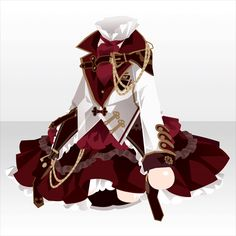 機空騎団ミネルヴァ|@games -アットゲームズ- Cute Anime Character, Character Outfits, Fashion Design Drawings, Fashion Sketches, Dress Anime, Anime Outfits, Cool Outfits, Drawing Clothes, Gothic Lolita