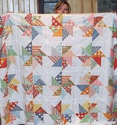 great pinwheel quilt