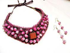 "Set "" agate si cuart"" Agate, Shop My, Handmade, Jewelry, Embroidery, Hand Made, Jewellery Making, Jewerly, Jewelery"