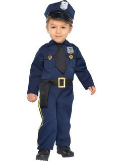 Baby Cop Costume - Party City