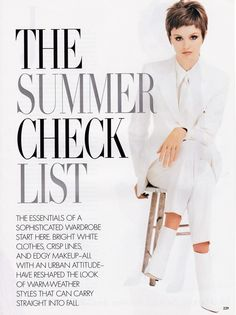 vogue us june 1995 — Postimage. Edgy Makeup, Vogue Us, White Outfits, View Image, Free Pictures, Fashion Boots, Warm Weather, June, Style