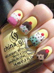 Cute Huh?! Cupcake nails