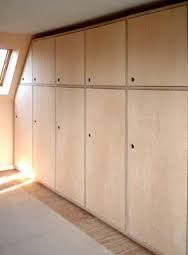 built in ply wood closet space - Google Search
