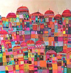 'Ville Multicolore' by Sophie Jourdan