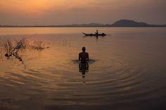 At Kolavai Lake by Akilan T