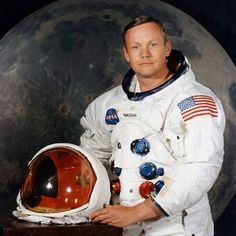 Neil Armstrong, the first man to walk on the moon 1930-2012