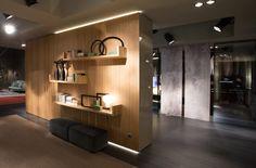 Salone del Mobile 2016 . Stand RES . boiserie Singly . Decoma Design