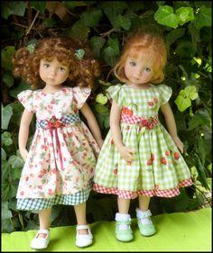 jumelles en Violette