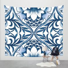 Buy Azulejo Wall Tapestry by Marta Li. Worldwide shipping available at Society6.com. Just one of millions of high quality products available.