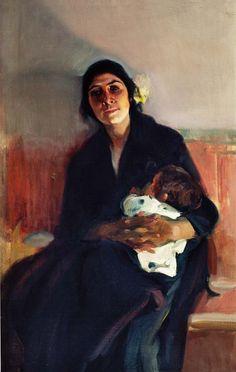 Joaquina la gitana de Joaquin Sorolla 1914 .jpg (648×1024)